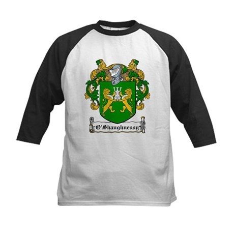 O'Shaughnessy Family Crest Kids Baseball Jersey