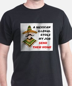 RETURN ILLEGAL CONVICTS T-Shirt