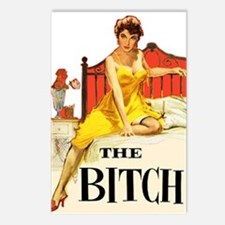 The Bitch Postcards (Package of 8)