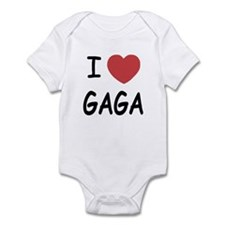 I heart gaga Infant Bodysuit