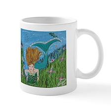 The Mermaid and the Turtle Mug
