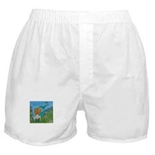 The Mermaid and the Turtle Boxer Shorts