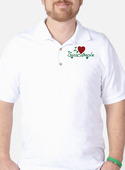 I Love Guacamole Golf Shirt