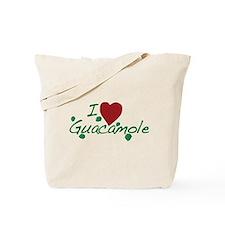 I Love Guacamole Tote Bag