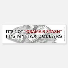 Not Obama's Stash, Bumper Bumper Sticker