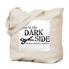 Unique Dark Tote Bag