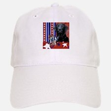 July 4th Firecracker Labrador Baseball Baseball Cap