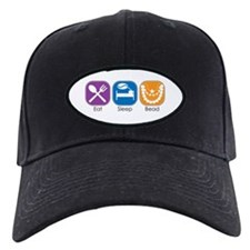 Eat Sleep Bead Baseball Hat
