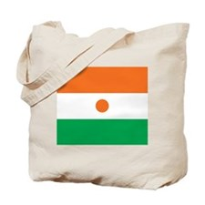 Niger Flag Tote Bag