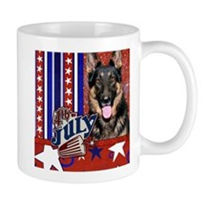 July 4th Firecracker Shepherd Mug