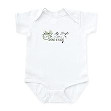 Pacifier/Dogtag Infant Bodysuit