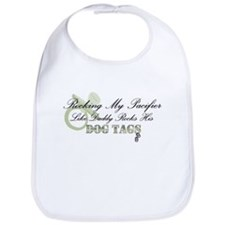 Pacifier/Dogtag Bib