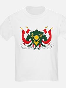 Niger Coat Of Arms Kids T-Shirt