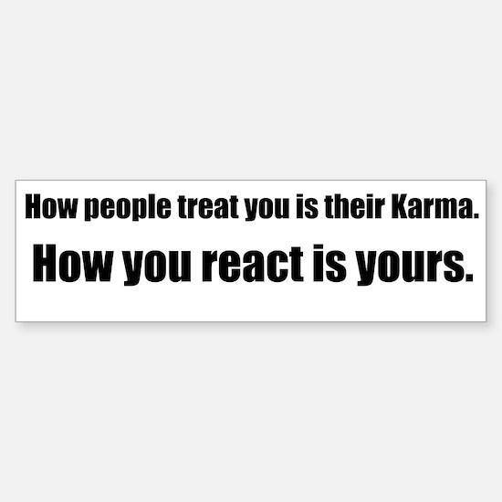Karma Sticker (Bumper)
