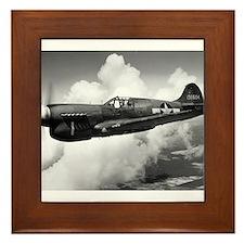 P-40 Beautiful Flight Framed Tile