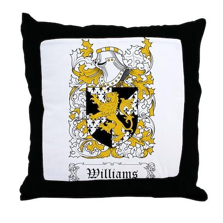 Williams I Throw Pillow