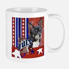 July 4th Firecracker Chihuahu Mug