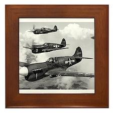 P-40 Squadron Framed Tile