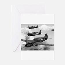 P-40 Squadron Greeting Cards (Pk of 10)