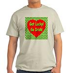 Get Lucky! Go Irish! Ash Grey T-Shirt