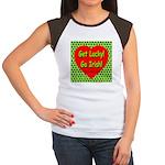 Get Lucky! Go Irish! Women's Cap Sleeve T-Shirt