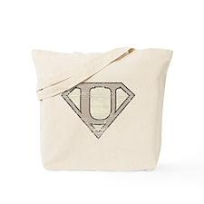 Super Vintage U Tote Bag