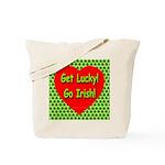 Get Lucky! Go Irish! Tote Bag