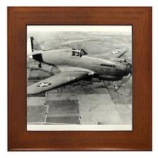 P-40 3/4 View Framed Tile