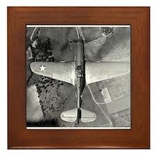 P-40 From Above Framed Tile