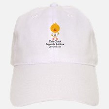 Asthma Awareness Chick Baseball Baseball Cap