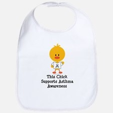 Asthma Awareness Chick Bib