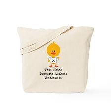Asthma Awareness Chick Tote Bag