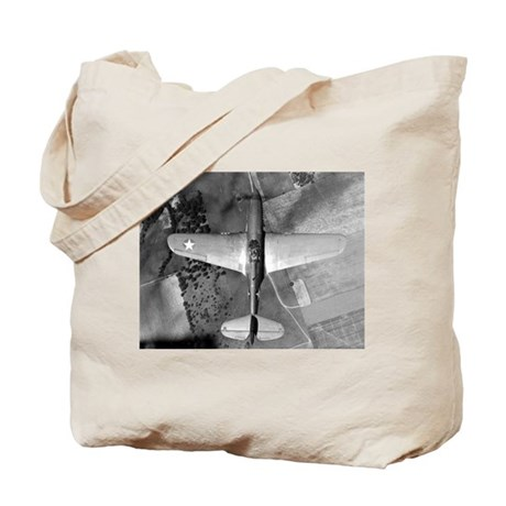 P-40 From Above Tote Bag
