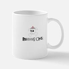 Running Chick Skull Mug