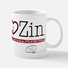 I Heart Zin: Light Mug
