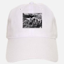 P-40 Crash Baseball Baseball Cap