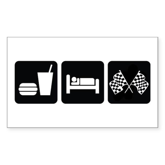 eat sleep race tattoo - photo #6