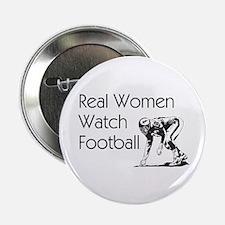 """Football Fan 2.25"""" Button"""