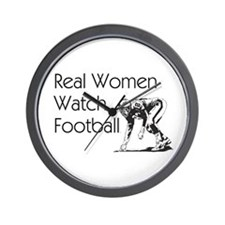 Football Fan Wall Clock