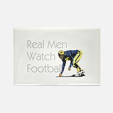 Football Fan Rectangle Magnet