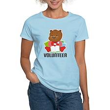 Volunteer Librarian Bear T-Shirt