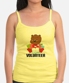 Volunteer Librarian Bear Jr.Spaghetti Strap