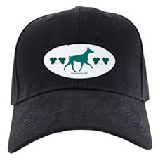 Shamrock Doberman Baseball Hat