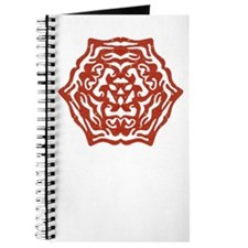 Red Snowflake Journal