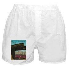 PENNA. RAILROAD 1960 Cover Boxer Shorts