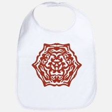 Red Snowflake Bib