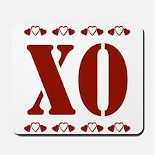 Big Hugs & Kisses Valentine Mousepad