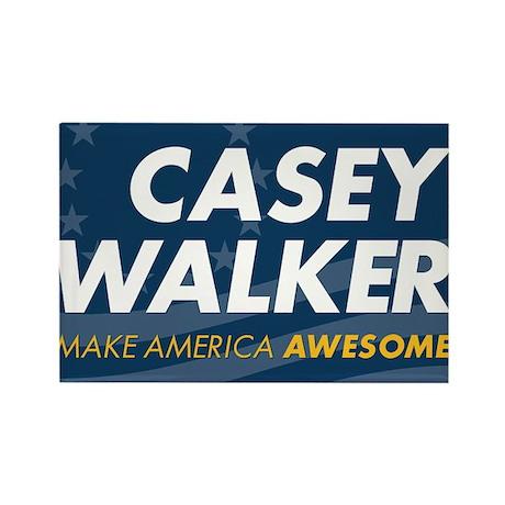 Casey-Walker Rectangle Magnet