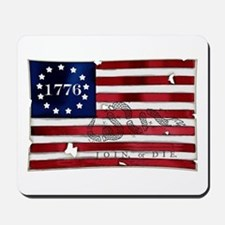 1776 American Flag Mousepad