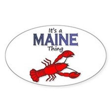 It's a Maine Thing - Lobster Decal